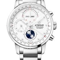 Eterna Steel 42mm Automatic 2949.41.66.0277 new