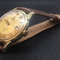 Omega 14393 Gold/Steel 1959 Constellation 34mm pre-owned