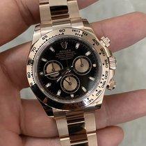 Rolex 116505 Or rose Daytona 40mm nouveau