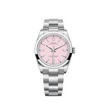 Rolex Oyster Perpetual 36 Steel 36mm Pink No numerals UAE, Dubai