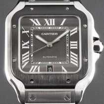 Cartier Santos (submodel) neu 2021 Automatik Uhr mit Original-Box und Original-Papieren WSSA0037