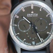 Zenith El Primero Chronomaster Aluminium 42mm Gris Sans chiffres France, Thonon les bains