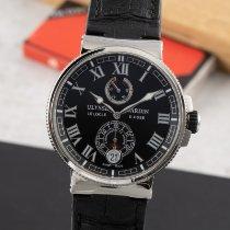 Ulysse Nardin Marine Chronometer Manufacture 1183-126 Meget god Stål 43mm Automatisk