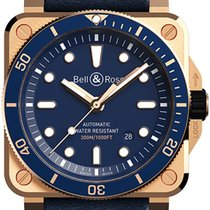 Bell & Ross BR 03 Bronze 42mm Blue