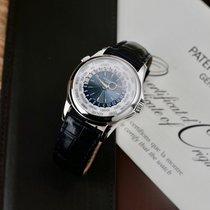 Patek Philippe (パテック フィリップ) コンプリケーション ワールドタイム 5130P-001 非常に良い プラチナ 39.5mm 自動巻き