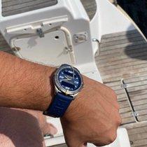 Breitling Aerospace Titanium 40mm Blue Arabic numerals