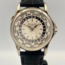 Patek Philippe World Time 5110G-001 Bardzo dobry Złoto białe 37mm Automatyczny