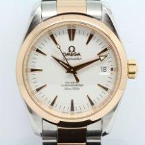 Omega Seamaster Aqua Terra Gold/Steel 36mm White No numerals United Kingdom, London