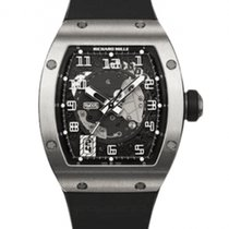 Richard Mille RM 005 White gold 37.8mm Transparent Arabic numerals