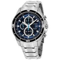 Citizen Titanium 43mm Blue United States of America, New Jersey, Somerset