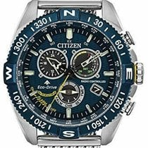 Citizen Promaster Sky Steel 44mm Blue United States of America, New Jersey, Somerset