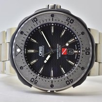 Oris ProDiver Date pre-owned 49mm Black Year Titanium