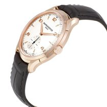 Baume & Mercier Red gold Manual winding Silver Arabic numerals 42mm new Clifton