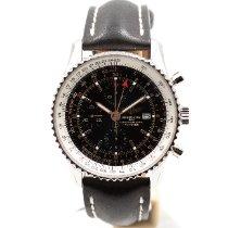Breitling Navitimer World новые 2018 Автоподзавод Хронограф Часы с оригинальными документами и коробкой A2432212/B726