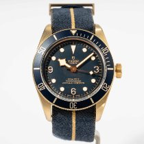 Tudor Black Bay Bronze Bronze 43mm Blue Arabic numerals United States of America, Massachusetts, Boston