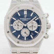 Audemars Piguet Royal Oak Chronograph Acero 41mm Azul Sin cifras