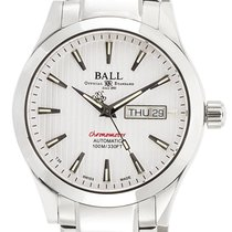 Ball Engineer II Chronometer Red Label Stahl 40mm Weiß