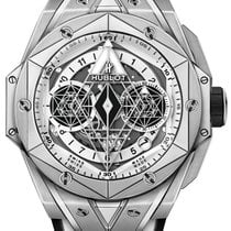 Hublot Big Bang Sang Bleu Titan 45mm Bjel