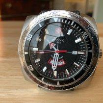 Zodiac Sea Dragon Steel 49.9mm Black No numerals
