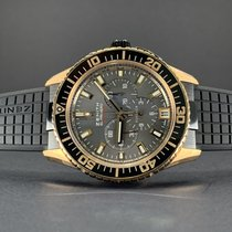 Zenith Rose gold Automatic Black 45.5mm new El Primero Stratos Flyback
