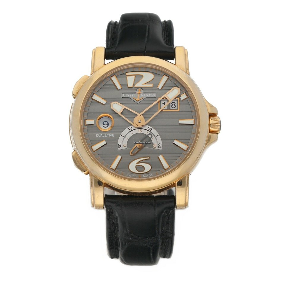 Ulysse Nardin Dual Time 246-55 pre-owned