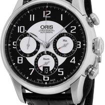Oris Raid Acier 43.5mm Noir