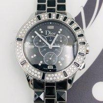 Dior Christal Сталь 38mm Черный
