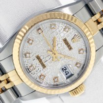 Rolex Lady-Datejust Gold/Steel 26mm Silver United States of America, California, Los Angeles