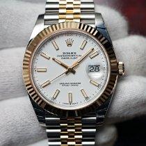 Rolex Datejust 126333 Новые Золото/Cталь 41mm Автоподзавод