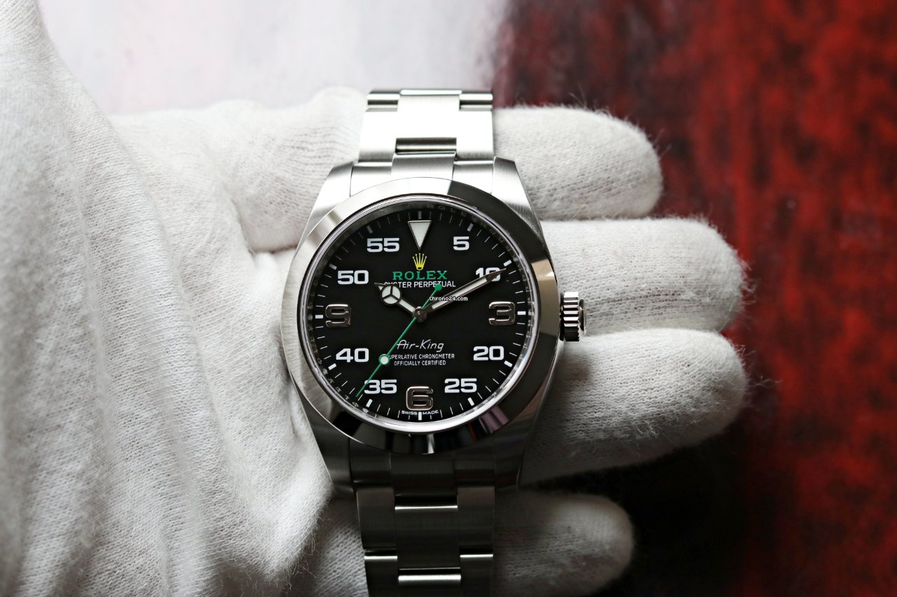 Rolex Air King 116900 2021 ny