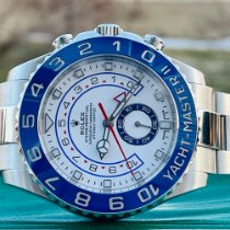 Rolex Yacht-Master II Steel 44mm White No numerals United States of America, Illinois, ROMEOVILLE