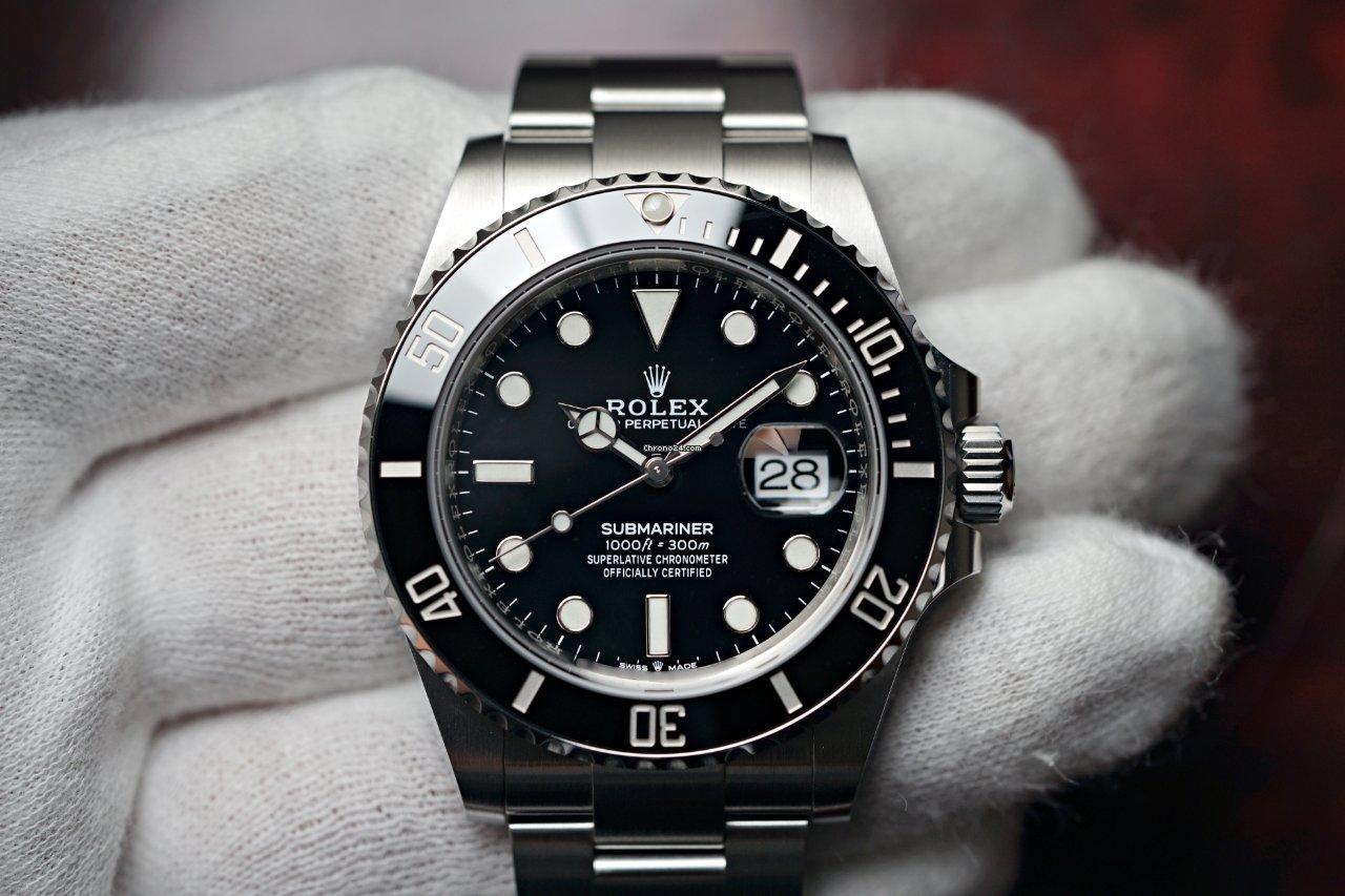 Rolex Submariner Date 126610LN 2021 новые