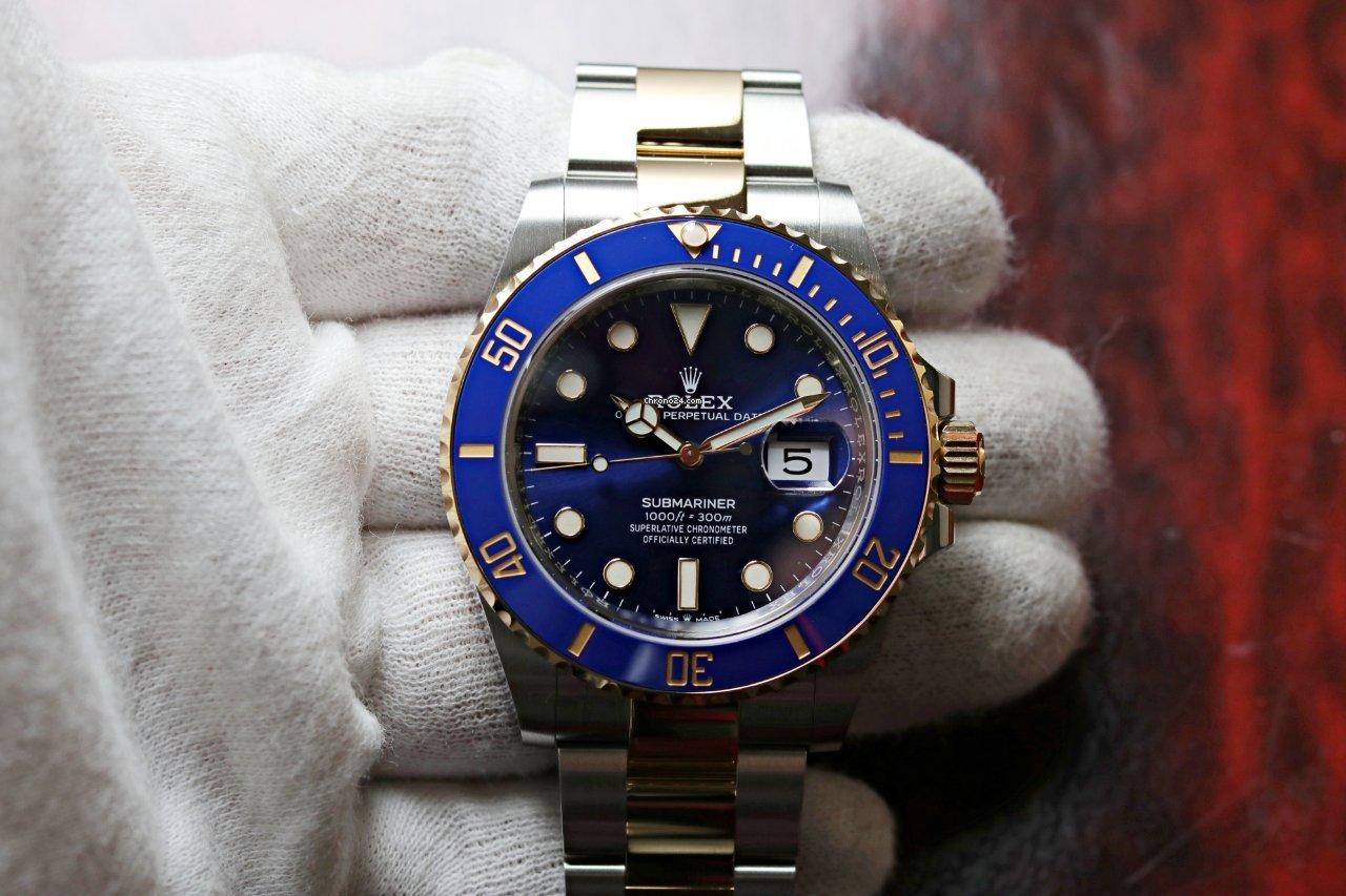 Rolex Submariner Date 126613lb 2021 новые