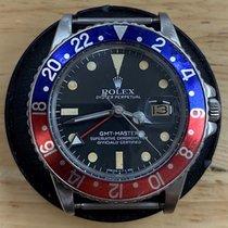 Rolex GMT-Master Steel 40mm Black No numerals Australia, Denmark