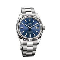 Rolex Datejust Steel 41mm Blue Australia