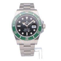 Rolex Submariner Date Steel 41mm Green
