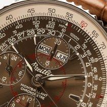 Breitling Montbrillant Datora Acero 43mm Bronce Sin cifras