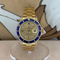 Rolex Submariner Date 16618 Ottimo Oro giallo 40mm Automatico Italia, Milano