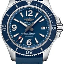 Breitling Steel Automatic Blue 42mm new Superocean 42