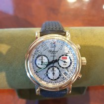Chopard Yellow gold Automatic 39mm new Mille Miglia