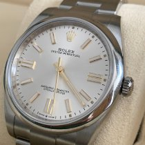 Rolex Oyster Perpetual Steel 41mm Silver