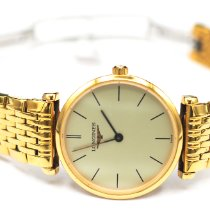 Longines Yellow gold Quartz Gold No numerals 25mm pre-owned La Grande Classique