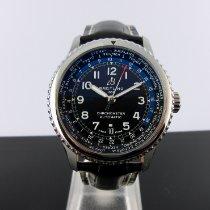 Breitling Aviator 8 Steel 43mm Black Arabic numerals