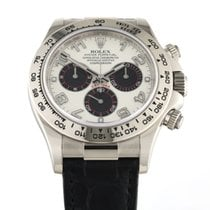Rolex 116519 Or blanc 2014 Daytona 40mm nouveau