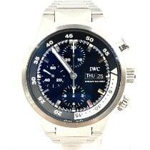 IWC Aquatimer Chronograph Steel 42mm Black No numerals