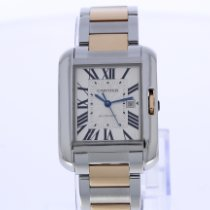 Cartier Tank Anglaise Goud/Staal 39.2mm Zilver Romeins Nederland, Breda
