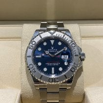 Rolex Steel Automatic Blue No numerals 40mm new Yacht-Master 40