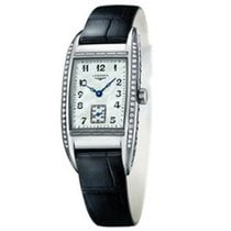 Longines BelleArti Steel 26mm Mother of pearl Arabic numerals