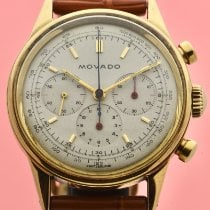 Movado Gold/Steel 35mm Manual winding Movado M95 Gold Chronograph new United States of America, New York, New York