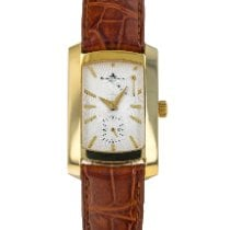 Baume & Mercier Hampton Yellow gold 40mm Silver United States of America, Maryland, Baltimore, MD